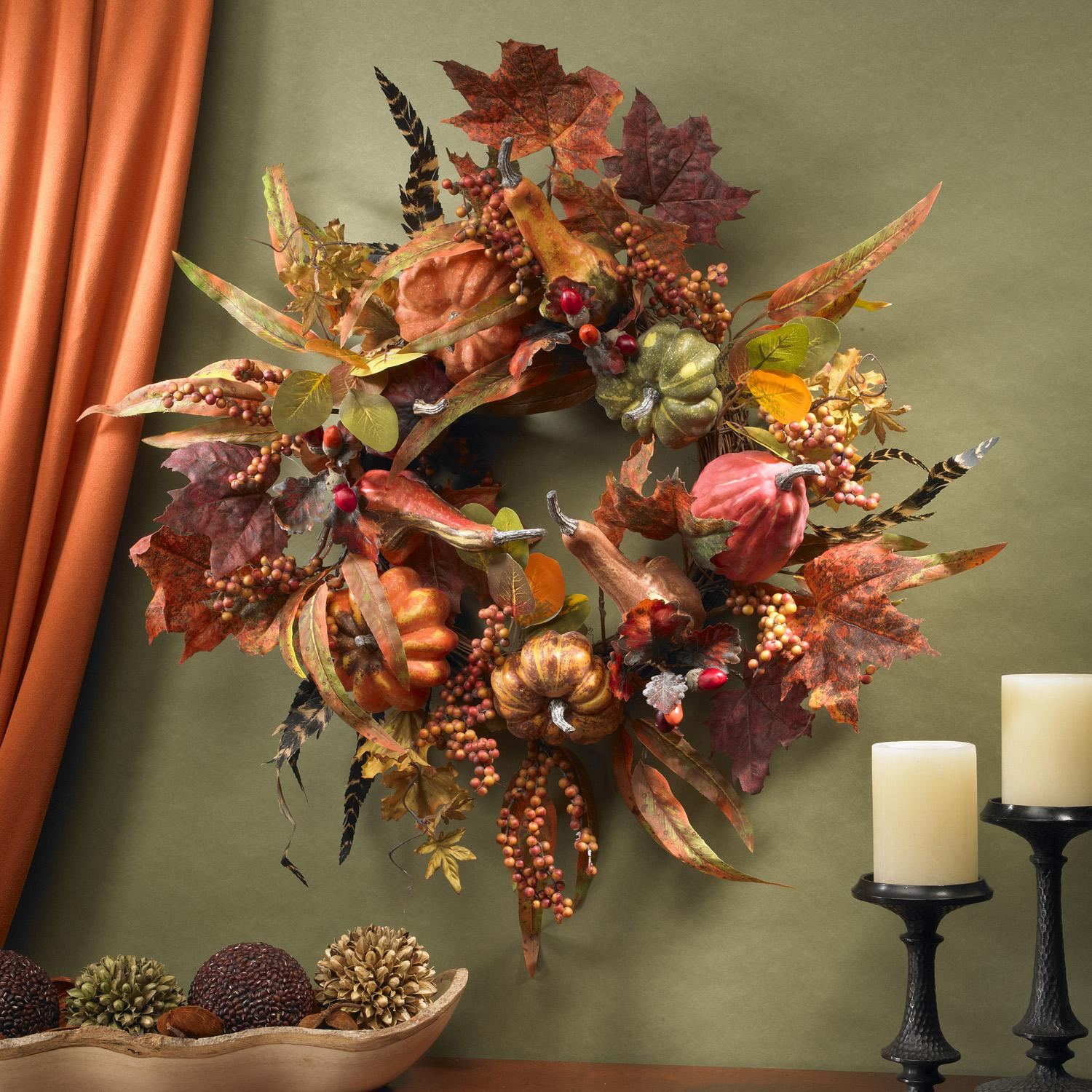 2011 thanksgiving decor and decorating ideas for the home for Thanksgiving home decorations