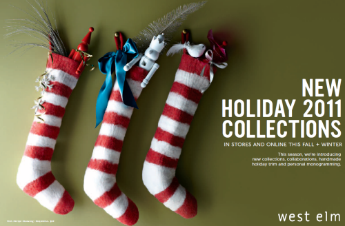 2011 West Elm Holiday and Christmas Collection and Lookbook