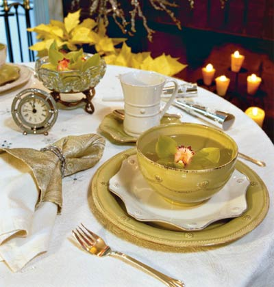 Pics photos 2012 new years eve dinner party table setting ideas 7