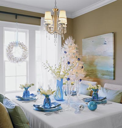 New year table set up photograph 2012 new years eve dinner - New year dinner table setting ...
