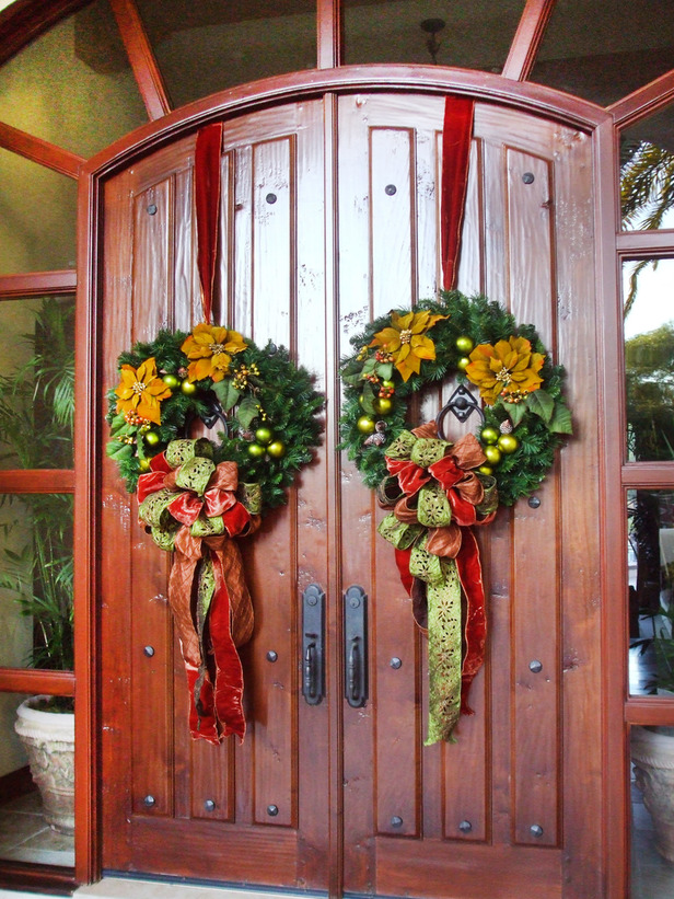Christmas and Holiday Wreath Ideas For Your Home 2