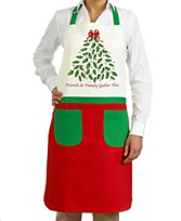Stylish Holiday and Christmas Aprons To Get You In The Holiday Spirit 2