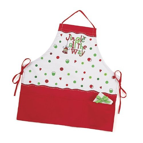 Stylish Holiday and Christmas Aprons To Get You In The Holiday Spirit