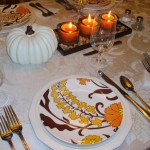 Thanksgiving Table Setting and Centerpiece Ideas 10