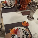 Thanksgiving Table Setting and Centerpiece Ideas 8