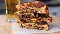 Grilled Cheese Recipe With A Twist - Mushrooms and Onions