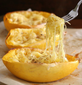 Low Carb Twice Baked Spaghetti Squash Recipe