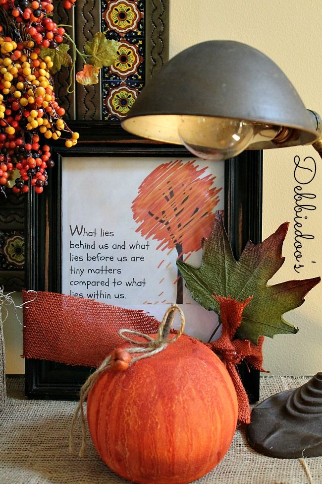 2014 Fall Decorating Trends & Ideas 10
