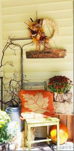 2014 Fall Decorating Trends & Ideas 3