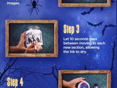 DIY Halloween Decorations - Halloween Themed Mason Jar