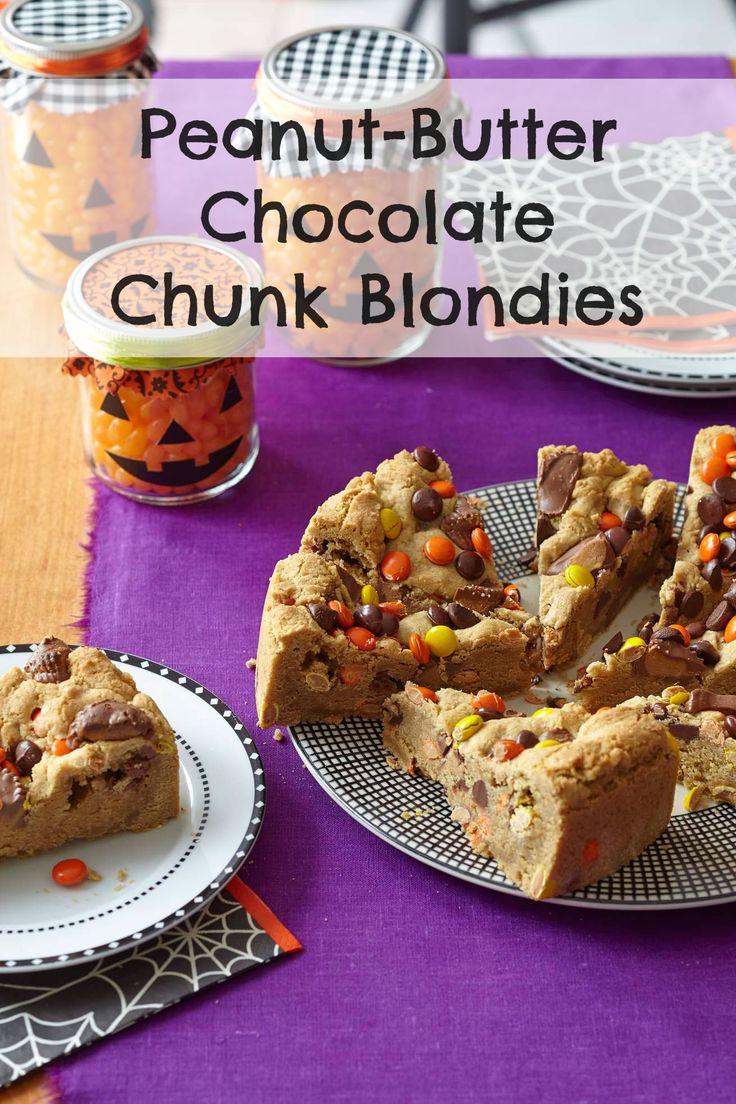 Peanut Butter-Chocolate Chunk Blondies