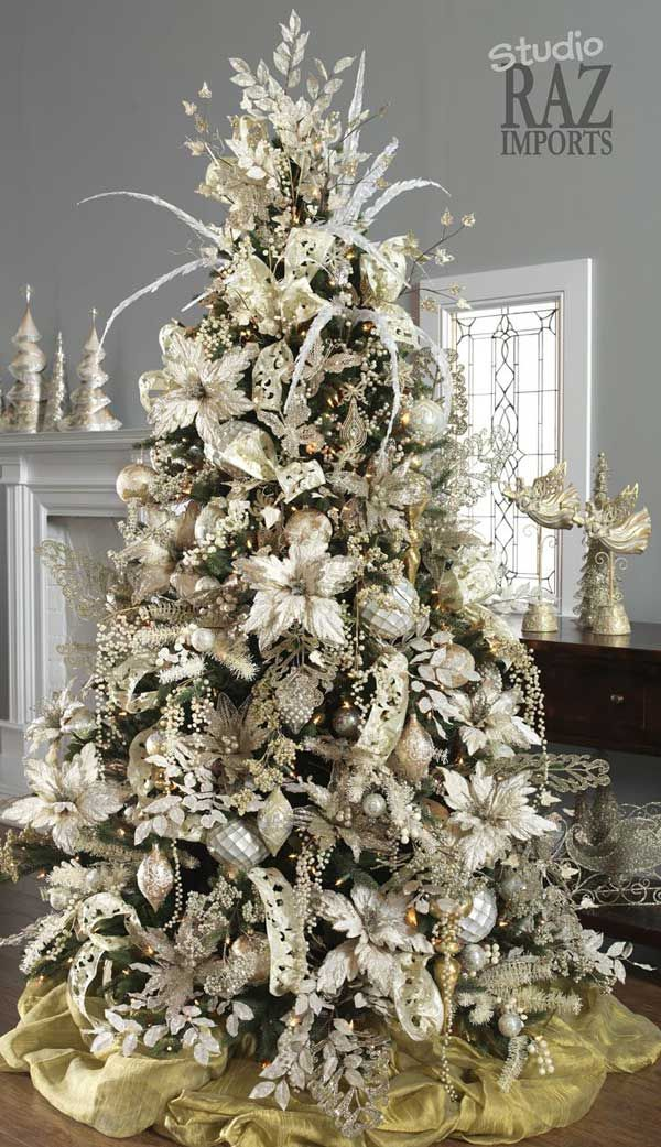 Christmas Tree Decorations 2014 christmas tree designs and decor ideas for 2014 - design trends blog