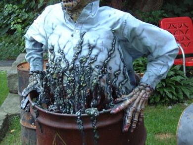 2015 Creepy Halloween Decoration Ideas 5