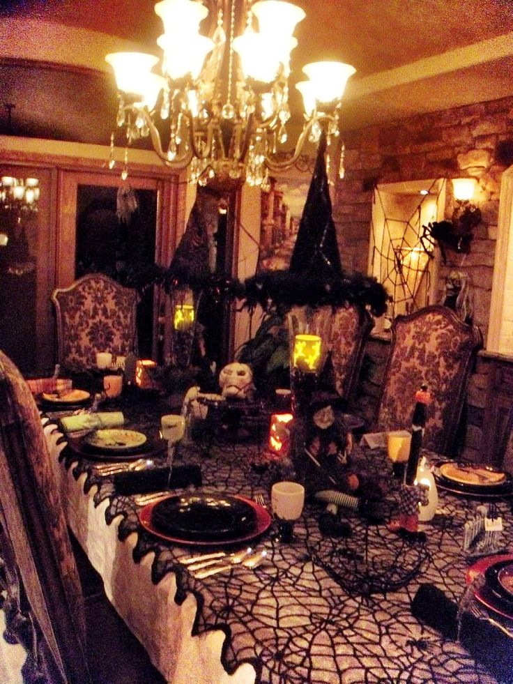 2015 halloween decoration ideas design trends blog for Deco de table halloween