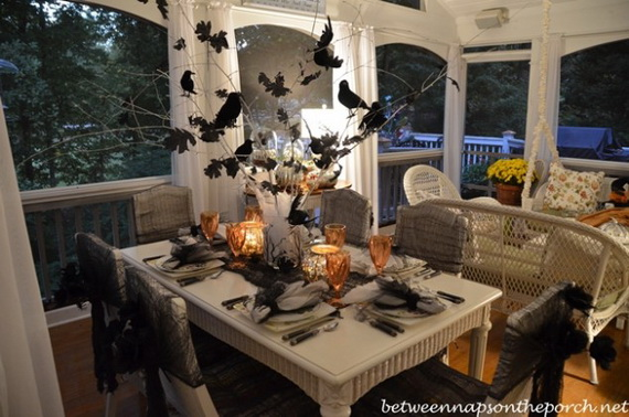 2015 Indoor Halloween Decoration Ideas 16
