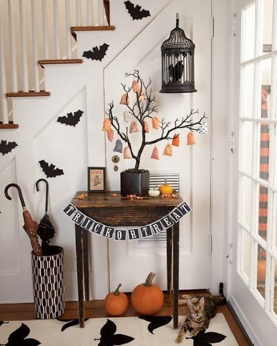 2015 indoor halloween decoration ideas design trends blog. Black Bedroom Furniture Sets. Home Design Ideas