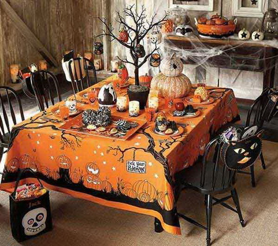 2015 Indoor Halloween Decoration Ideas 18