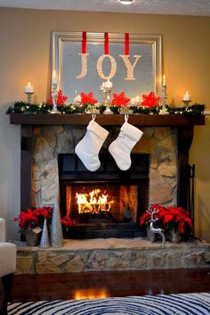 2016-christmas-mantel-decorating-ideas-14
