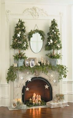 2016-christmas-mantel-decorating-ideas-35