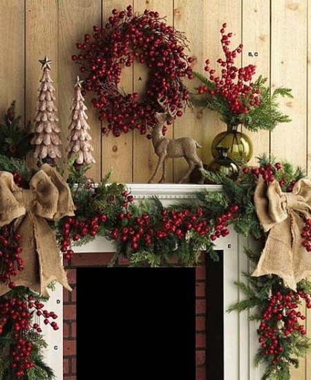 2016-christmas-mantel-decorating-ideas